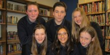 L-R back : Phillipa Greenwood, Fin Shelley, Amber Coxill L-R front: Eve Coburn, Maya Balachandran, Caitlin Hall