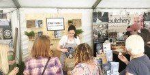 Oat Pantry stall at Shrewsbury food festival