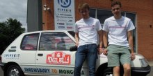 George Rowlands and Ed Barber Take On Mongol Rally