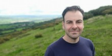 Picture of Rob Griffiths in Shropshire countryside