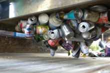 steel cans are magnetic